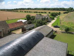 A view of Conygree Farm